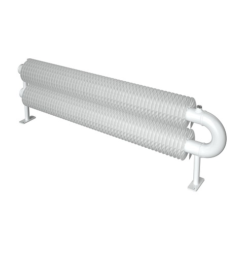 ribbed radiator Spiral